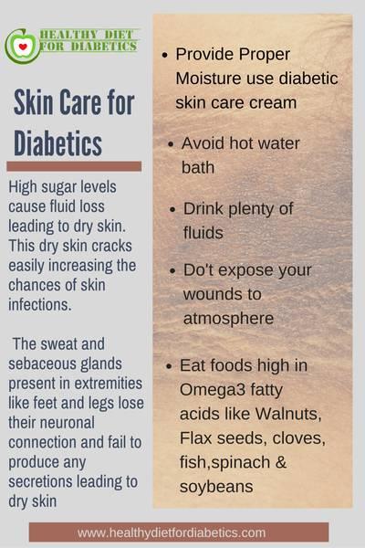 skin care for diabetics