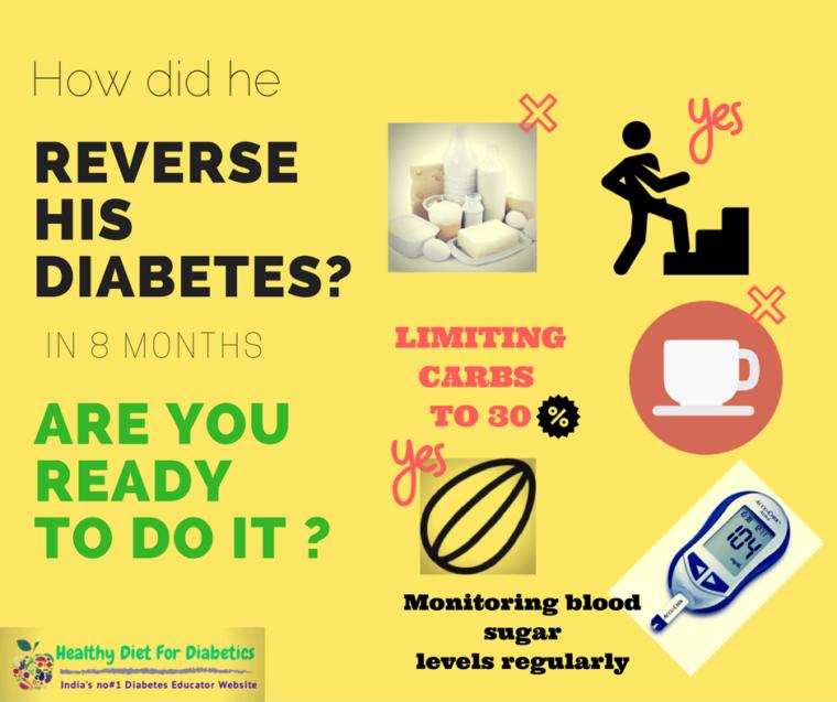 reverse diabetes success stories india
